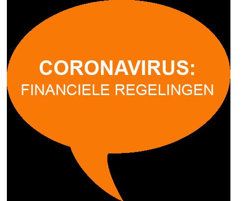Coronavirus - financiële regelingen